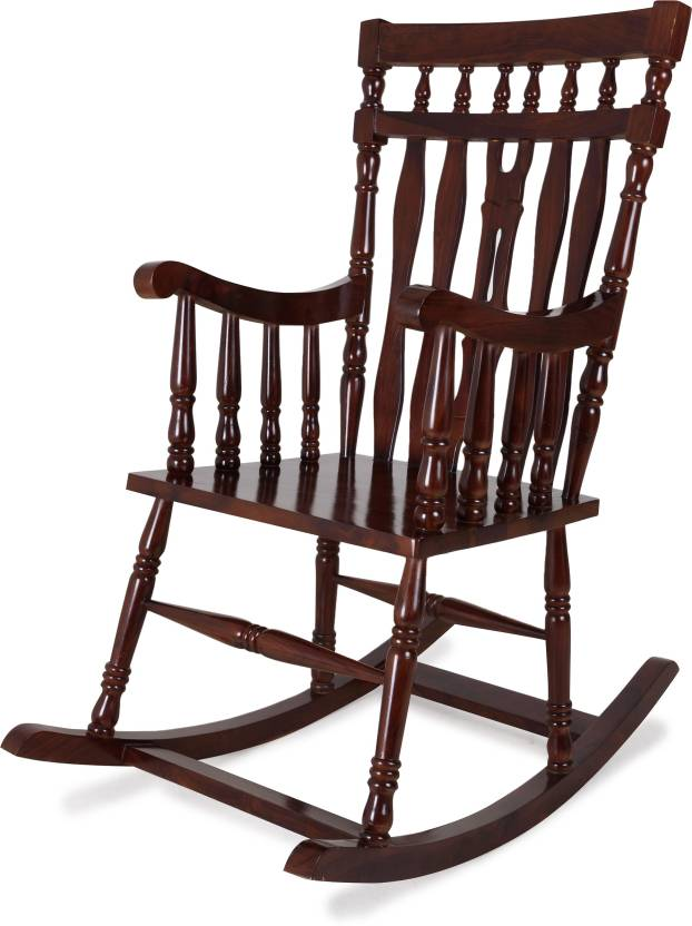 Strange Home Edge Medellin Solid Wood 1 Seater Rocking Chairs Price Dailytribune Chair Design For Home Dailytribuneorg