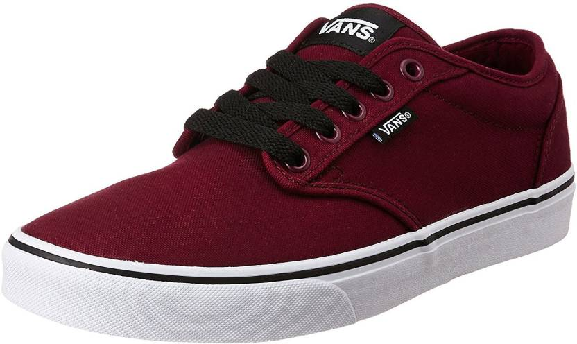 Vans ATWOOD Sneakers For Men - Buy (CANVAS) OXBLOOD WHITE Color Vans ... 5e3750b40