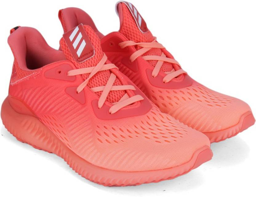 check out 76add 3c205 ADIDAS ALPHABOUNCE EM W Running Shoes For Women (Orange)