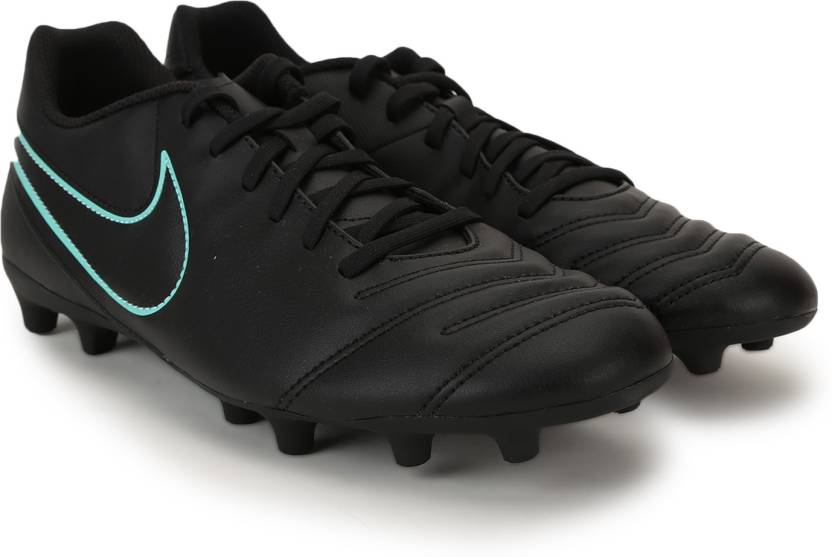 b2db0fcfc05 Nike TIEMPO RIO III FG Football Shoes For Men - Buy Black Turquoise ...