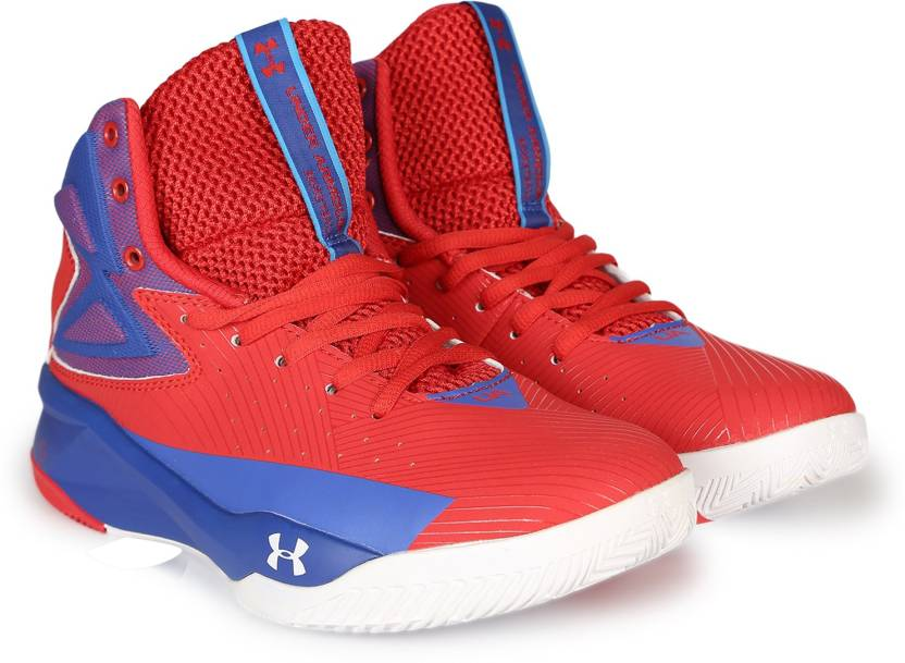 reputable site 28f00 2acad Under Armour UA ROCKET Basketball Shoes For Men