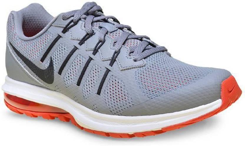 nike air max dinastia msl scarpe da corsa per gli uomini comprano forte grigio / nero