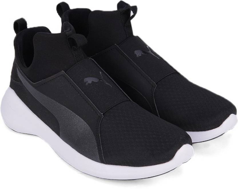 d7050c2b2a522a Puma Puma Rebel Mid Wns Sneakers For Women - Buy Puma Black-Puma ...