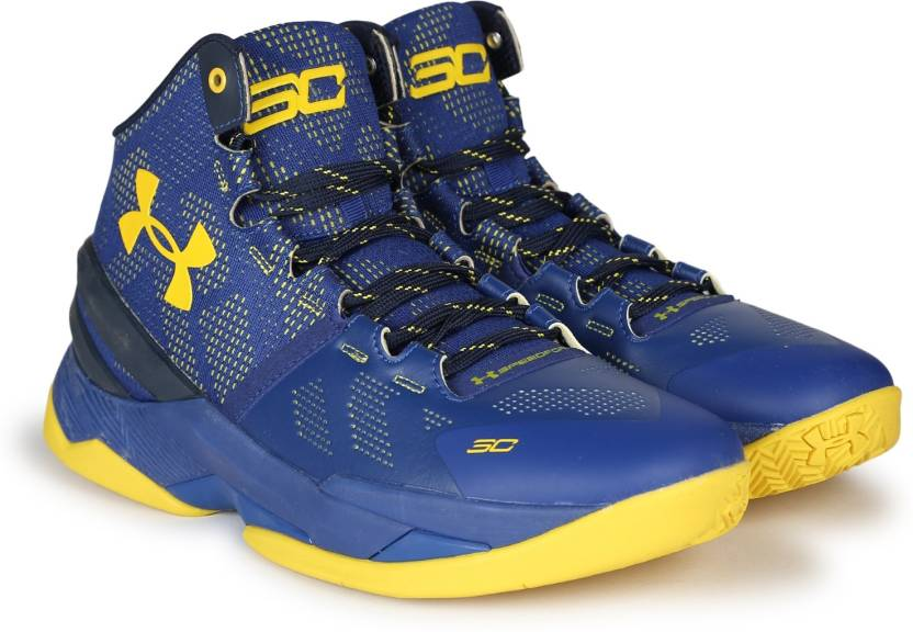 b65f6e4590a6 Under Armour UA CURRY 2.0 Basketball Shoes For Men - Buy SAPPHIRE ...