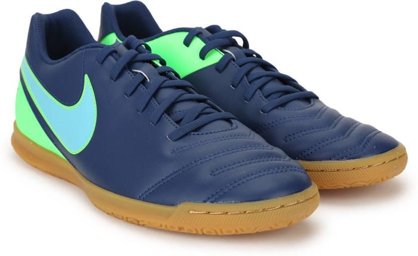 49485bb609d Nike TIEMPO RIO III IC Football Shoes For Men - Buy COASTAL BLUE ...
