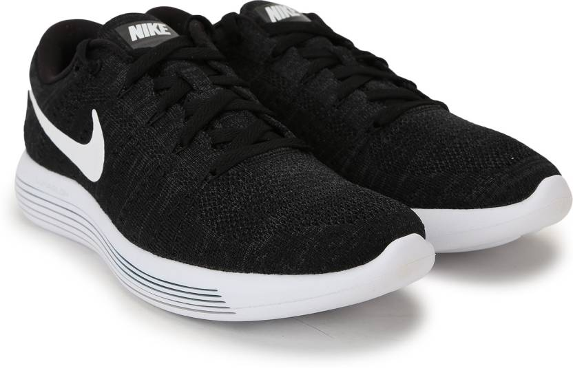 5a2c38e32b6d3 Nike LUNAREPIC LOW FLYKNIT Running Shoes For Men - Buy Black WHITE ...