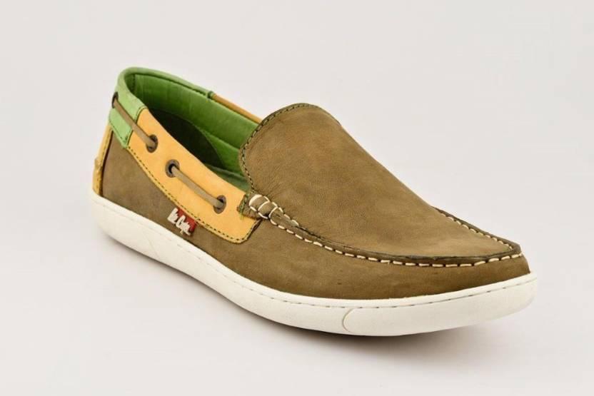 e23c0d0f6b9 Lee Cooper Loafers For Men - Buy Khaki Color Lee Cooper Loafers For ...