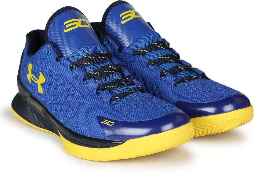 276b9024ae2 Under Armour UA CURRY 1.0 Basketball Shoes For Men - Buy NAVY/BLACK ...