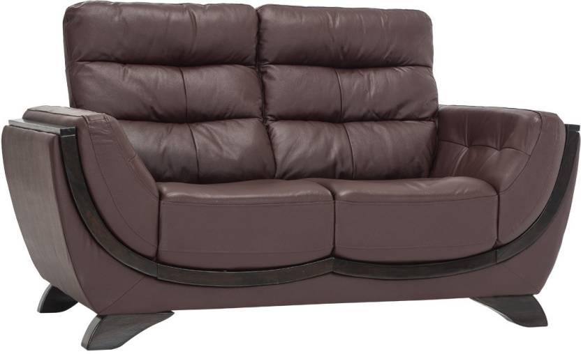 Astounding Durian Drake 2 Leather 2 Seater Sofa Price In India Buy Evergreenethics Interior Chair Design Evergreenethicsorg