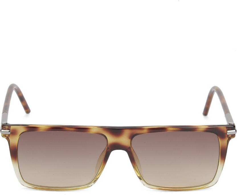 02bcc49d769 Buy Marc Jacobs Retro Square Sunglasses Brown For Men Online   Best ...