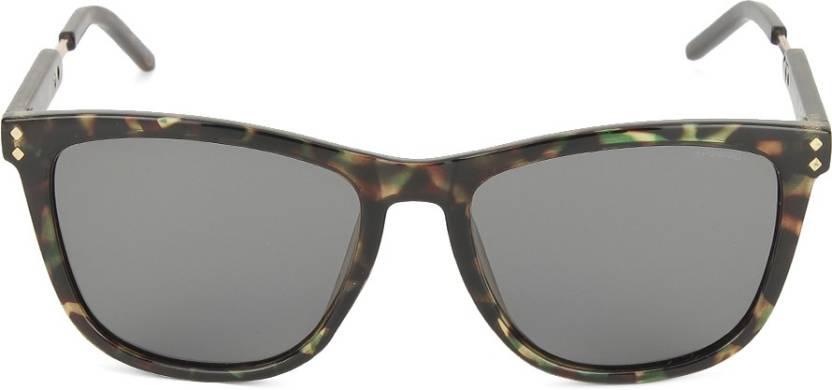 a6375a8df17f5 Buy Polaroid Wayfarer Sunglasses Grey For Men   Women Online   Best ...