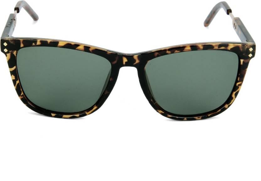 ecef846b8728a Buy Polaroid Wayfarer Sunglasses Green For Men Online   Best Prices ...