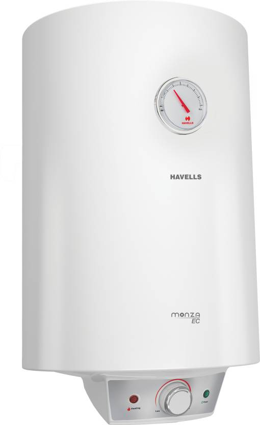 Havells 15 L Storage Water Geyser  (White, Monza EC)-7% OFF