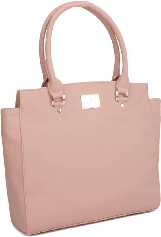 5e7754e1d0fd83 Buy Van Heusen Hand-held Bag PINK Online @ Best Price in India ...