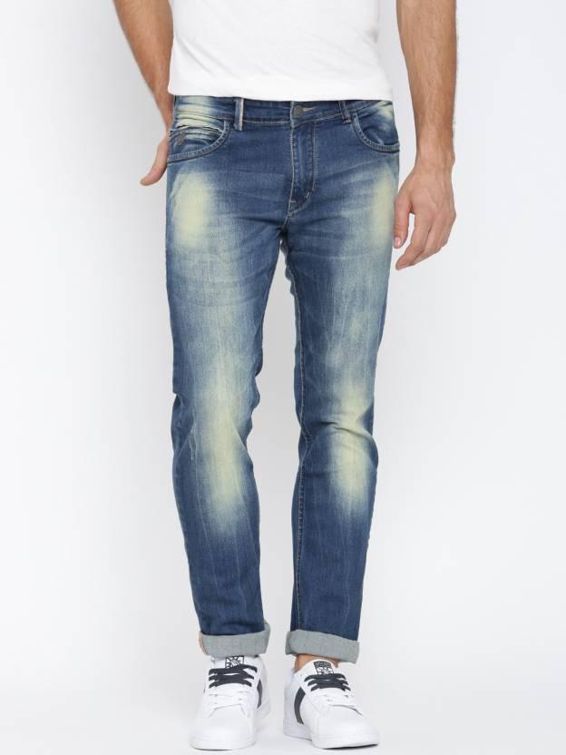 John Players Slim Men's Blue Jeans