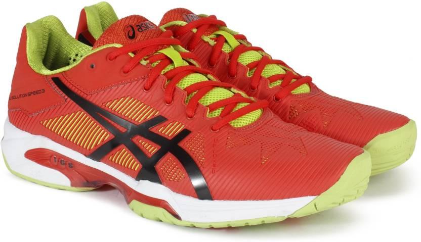 787d2738ba103 Asics GEL-SOLUTION SPEED Tennis Shoes For Men - Buy ORG BLK LIME ...