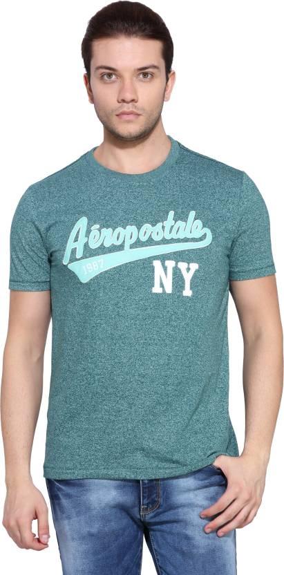 e90a8b6f779a Aeropostale Printed Men's Round Neck Green T-Shirt - Buy STORM Aeropostale  Printed Men's Round Neck Green T-Shirt Online at Best Prices in India |  Flipkart. ...
