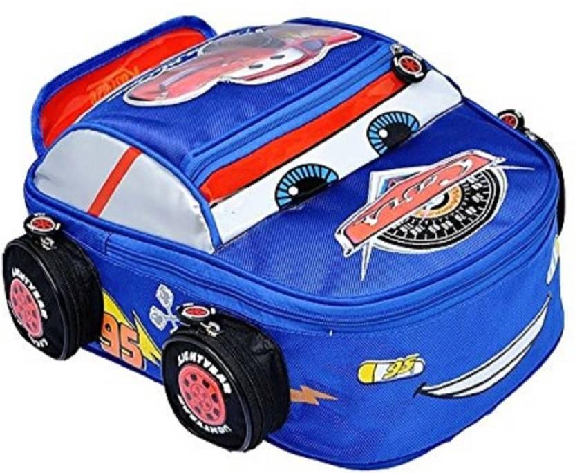 64a395767a00 KARP School Backpacks - Disney Cars Lightning Kids Children Boys Toddlers  Boy Cartoon Zipper Shoulder Backpack School Bag (Blue