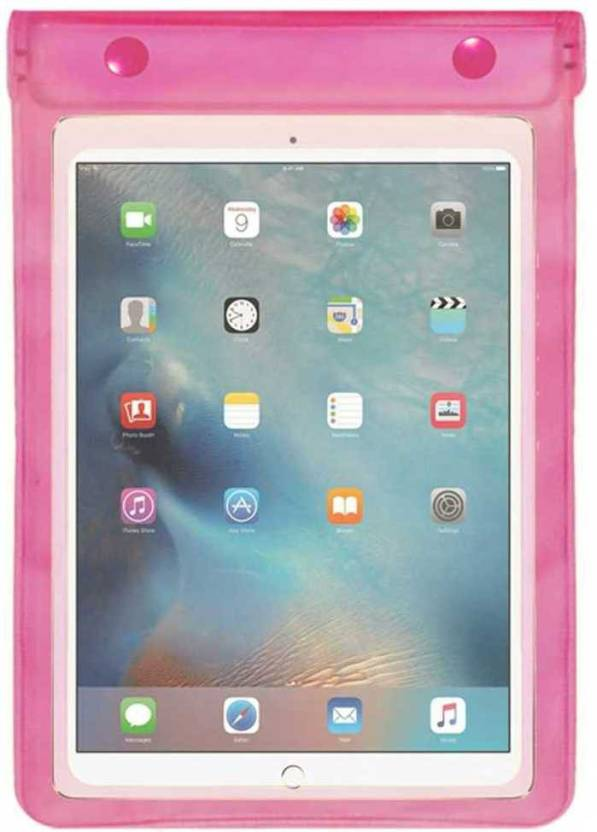 ACM Pouch for Apple Ipad Pro 9.7 Pink, Waterproof, Silicon