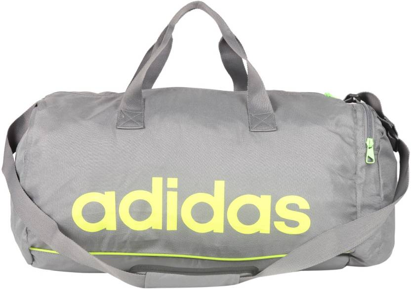ADIDAS TBS Travel Duffel Bag Grey - Price in India   Flipkart.com 4882151b2d