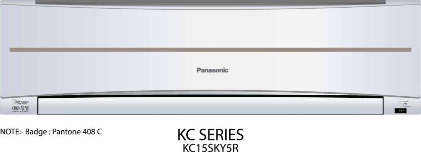 Panasonic 1.2 Ton 5 Star Split AC  - White