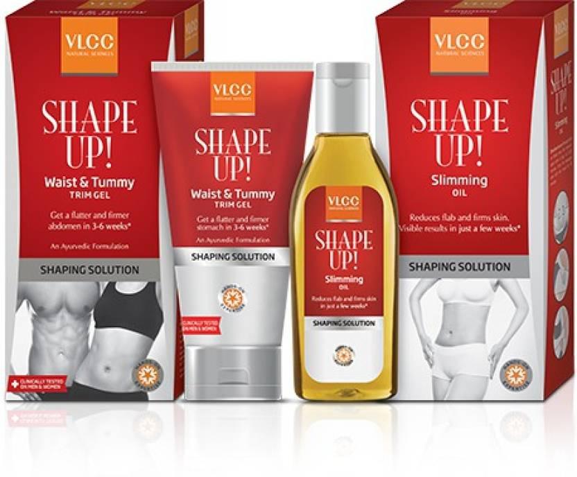 Vlcc Vlcc Shape Up Slimming Oil 100ml Waist And Tummy Trim Gel
