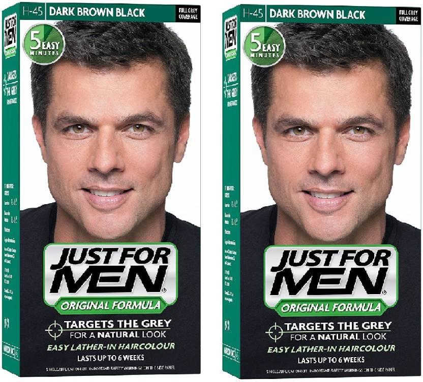 Just For Men Just For Men H 45 Dark Brown Black Pack Of 2 Hair