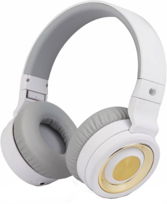 AT&T PBH20-WHT Bluetooth Headset with Mic