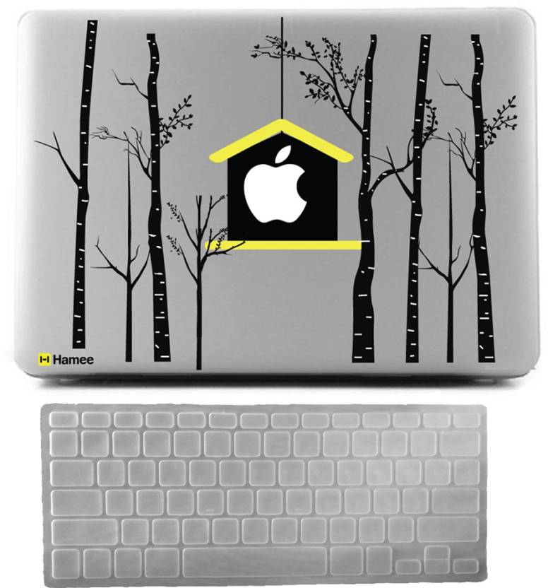 Hamee Apple Macbook Air 13 Inch Cover With Keyboard Skin Combo 37
