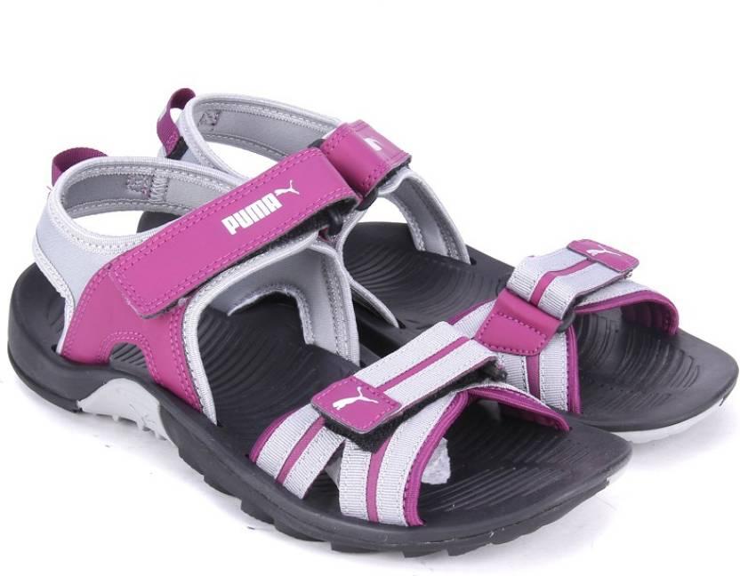 Puma Women Puma Black-Dark Purple Sports Sandals - Buy Puma Black-Dark  Purple Color Puma Women Puma Black-Dark Purple Sports Sandals Online at  Best Price ... eecbd9856145