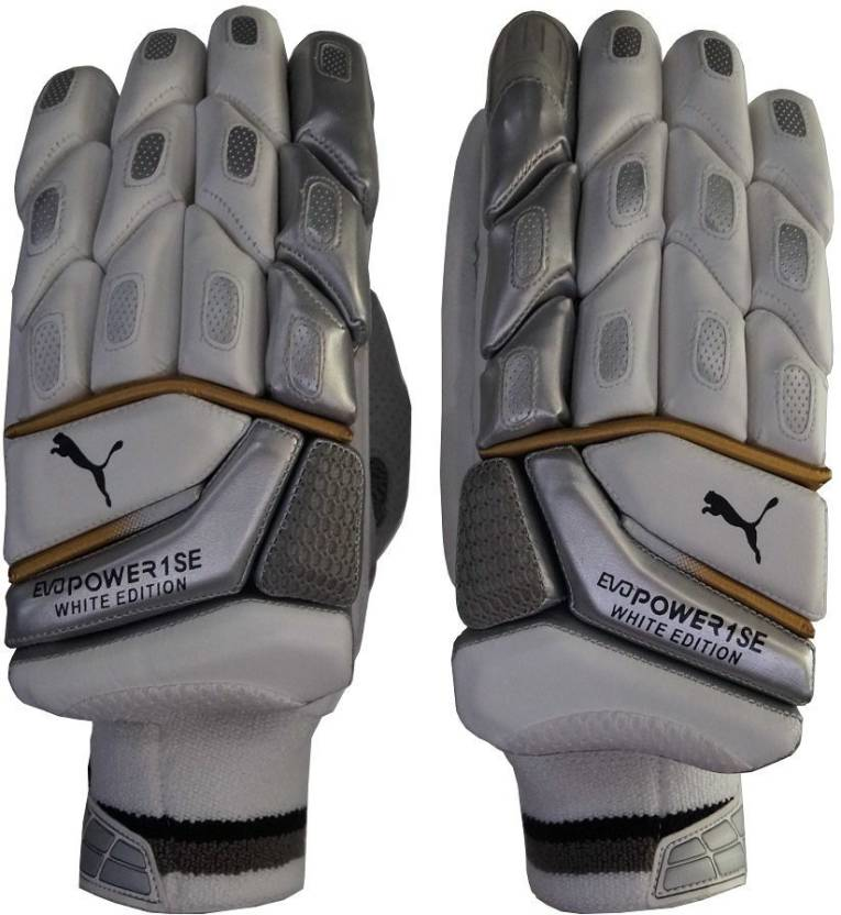 Puma Evo Power 1 SE White Edition Batting Gloves (Men 4e65ea9ef5