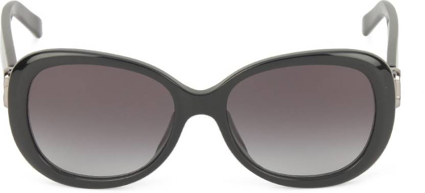 f3b7b4fee55a Buy Marc Jacobs Oval Sunglasses Grey For Women Online   Best Prices ...