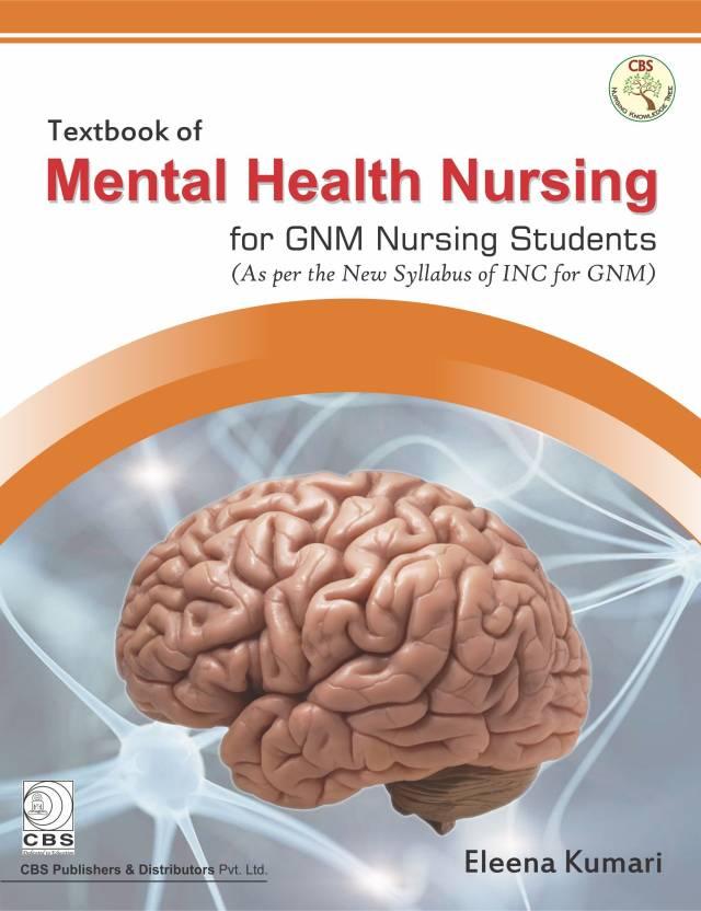 Textbook Of Mental Health Nursing For Gnm Nursing Students Buy
