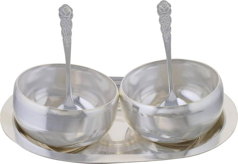 Soft Art Classic Bowls Adorable Gift Set Silver Plated Decorative Amazing Decorative Platters And Bowls