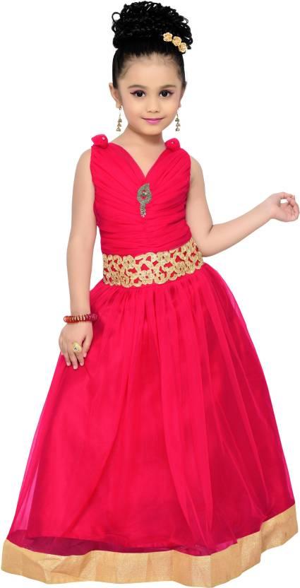 Adiva Girls Maxi/Full Length Party Dress Price in India - Buy Adiva ...