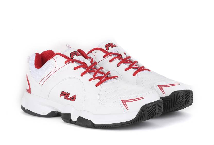 d0db0db49cf5 Fila BASELINE Badminton Shoes For Men - Buy White Color Fila ...