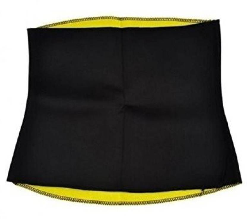 d285dc5fb9b87 wyvern Shapewears Hot Waist Shaper Slimming Shape Belt 4XL (Waist Size XL)  for Men   Women Slimming Belt (Black)