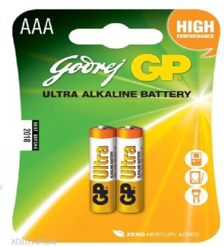 Godrej GP Mobile Battery For AAA Ultra Alkaline Card