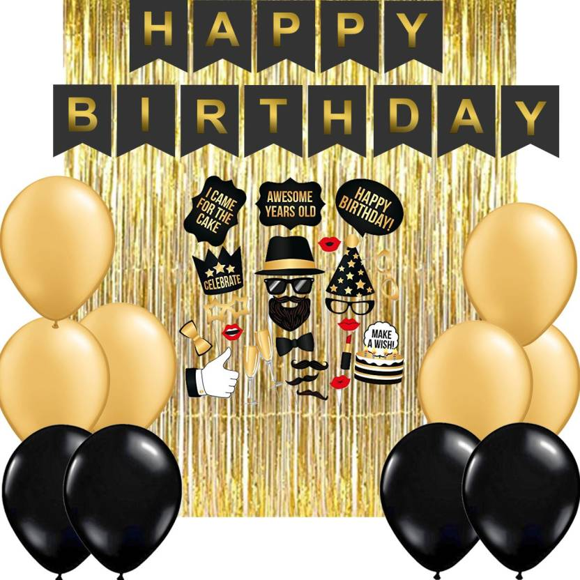 Party Propz Combo Pack Of 28 Pcshappy Birthday Party Decoration