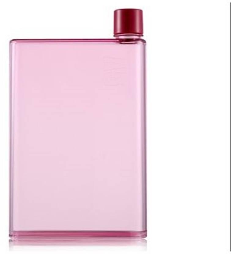 cde75d49d0 Enux A5 Memo Notebook Slim Water Bottle 420 ml Bottle (Pack of 1, Pink)