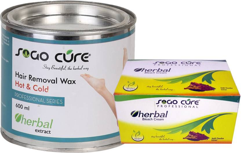 Sogo Cure Plain Hair Removal Hot Body Wax and Skin Herbal