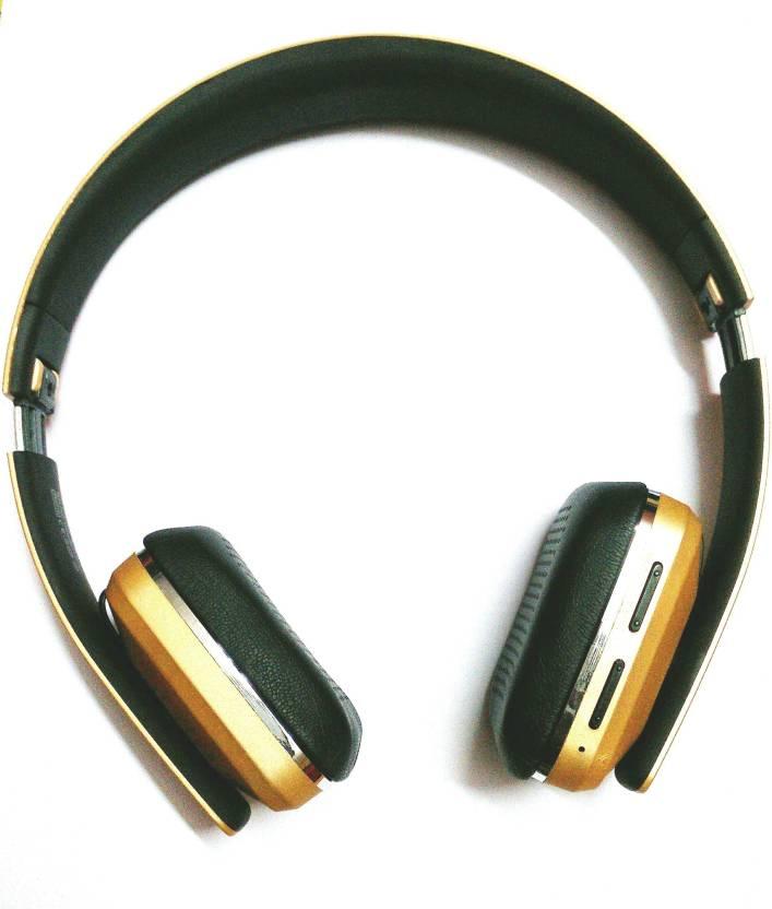 Ubon Bt-6120 Wireless Bluetooth King of Bass Bluetooth Headset with Mic  (Golden Matt a1fa71f85b