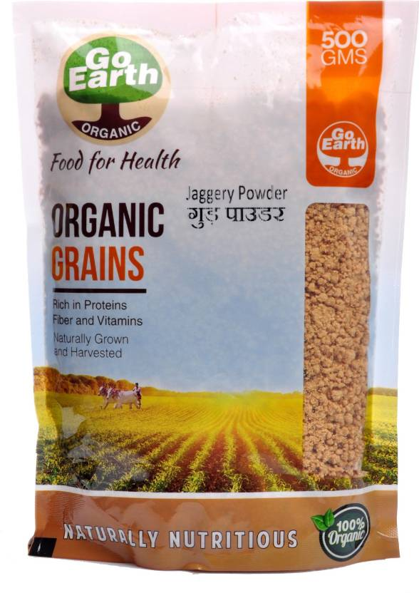 Go Earth Organic Jaggery Powder Jaggery Price in India - Buy Go ... 8d8b61d1765c2