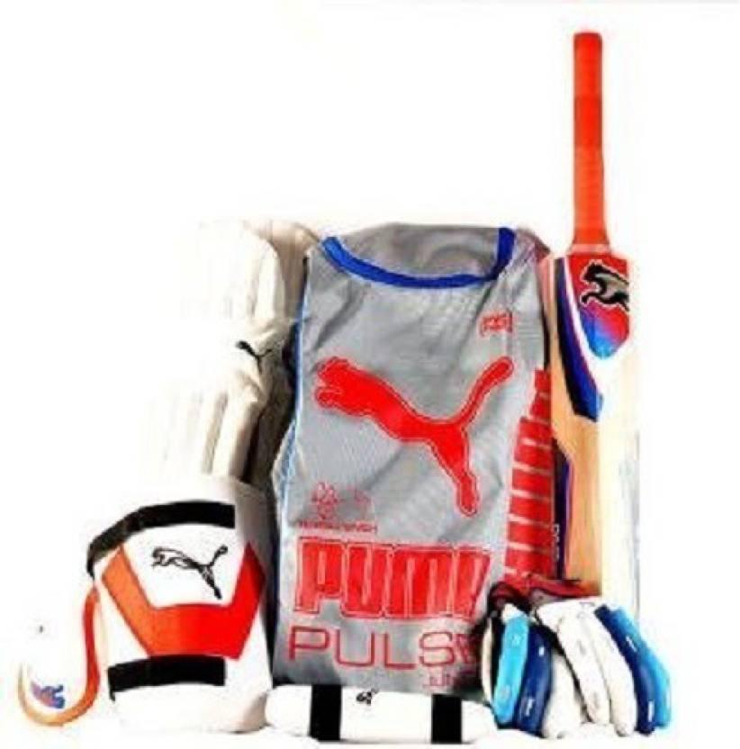 fa53ed1f77d Puma PULSE JUNIOR 12 (BOYS) Cricket Kit - Buy Puma PULSE JUNIOR 12 (BOYS) Cricket  Kit Online at Best Prices in India - Cricket | Flipkart.com