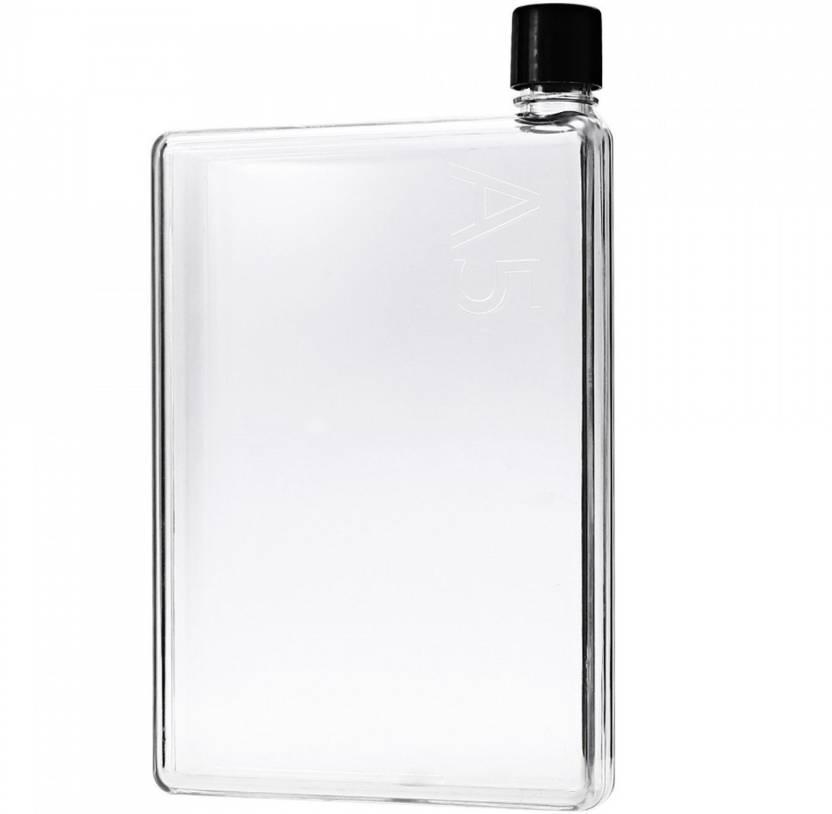 afe23e1b3c Enunx A5 Memo Notebook Slim Water Bottle 420 ml Bottle (Pack of 1,  Multicolor)