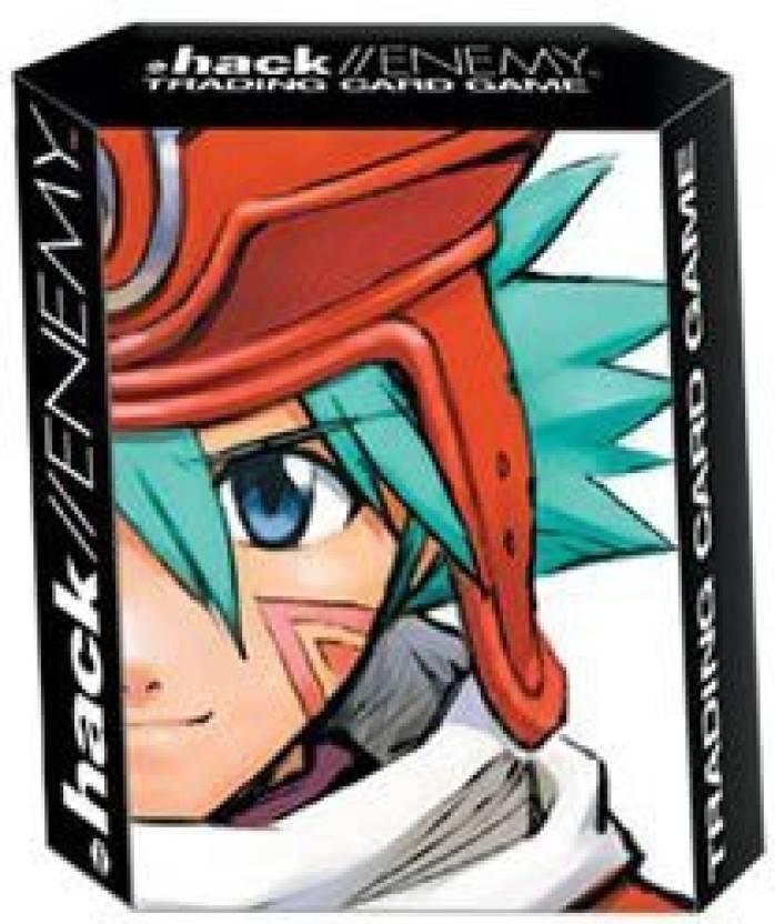 Bandai Dot  Hack Enemy Trading Card Game Contagion Starter