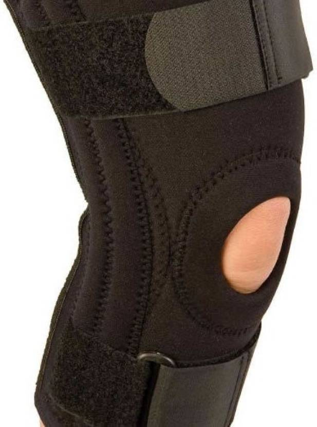 5e817b08a8 Kudize Functional Knee Support Compression muscle Joint Protection Gym Wrap Open  Patella Hinge Brace Support Bandage Injury Guard Premium Super Quality Knee  ...