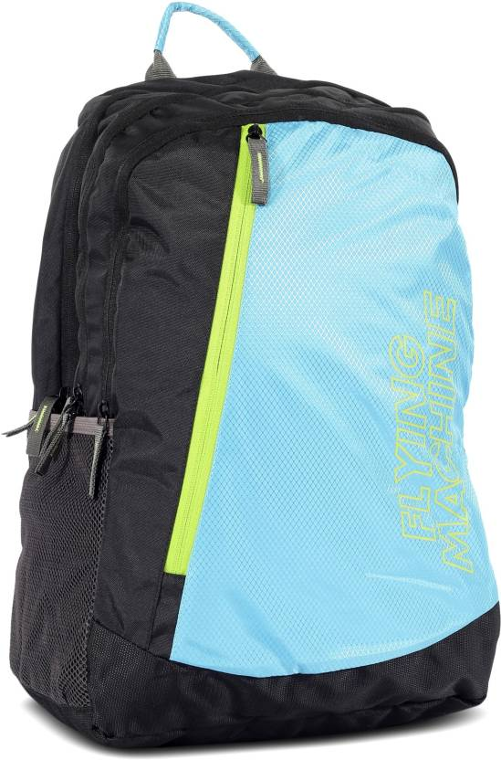 66d9aed18d Flying Machine LAPTOP BAGS 15 L Backpack (Black