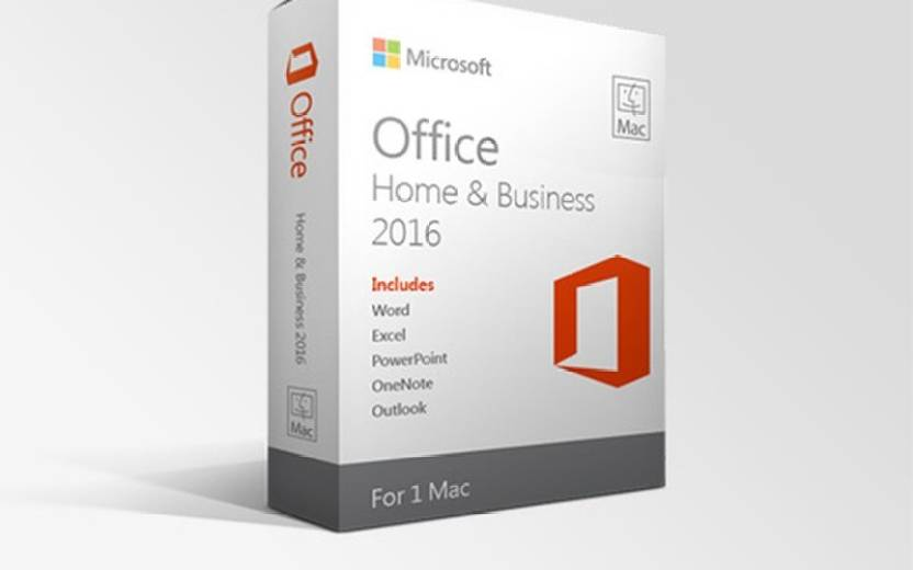 Microsoft Office 2016 Home & Business MAC (STUD) - Microsoft