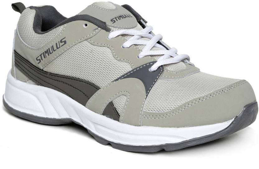 441634805 Paragon Paragon men s grey-silver sports sneakers Running Shoes For Men  (Grey)